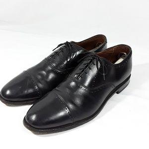 """Vtg Allen Edmonds """"HALE"""" Oxford 11.5 C Black Leath"""